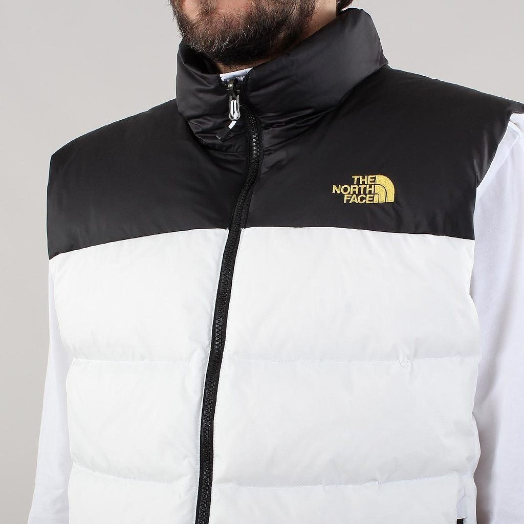 110805ed07f3 The North Face Nuptse 2 Vest TNF White TNF Black