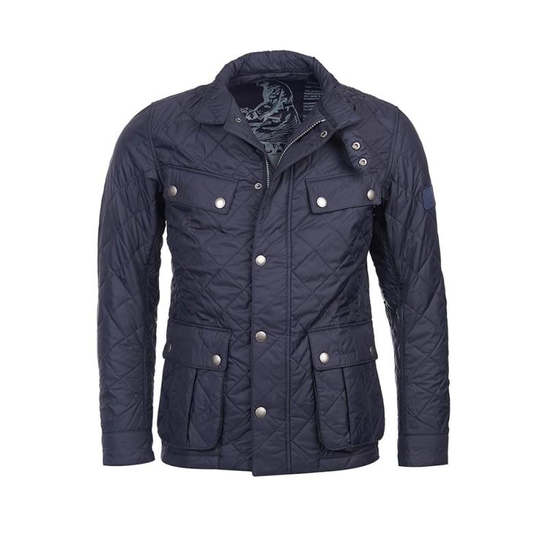 barbour international padded jacket