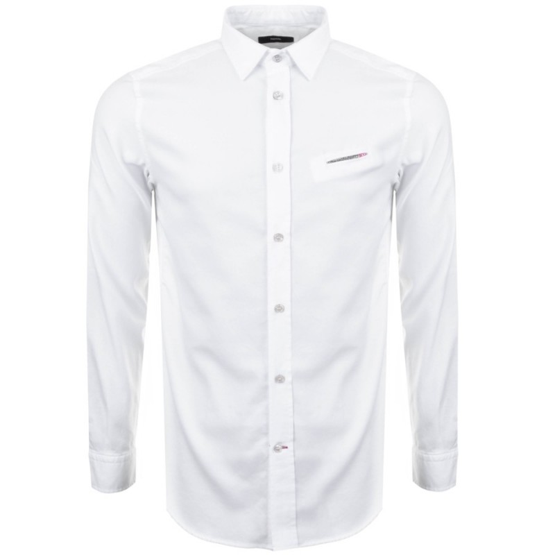 Diesel S Harras Shirt White