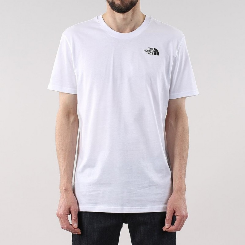 The North Face S/S Simple Dome T-Shirt TNF White
