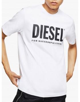 Diesel T-Just Logo T-Shirt - White