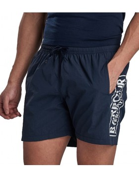 Barbour International Large Logo Swim Shorts International Navy