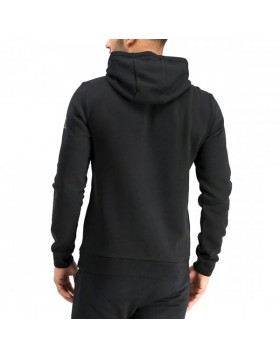 EA7 6GPM30 Hooded Sweatshirt - Black