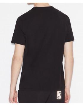 Armani Exchange 6GZTGB Printed T-Shirt - Black
