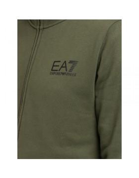 EA7 6GPM31 Tape Logo Sweatshirt - Green