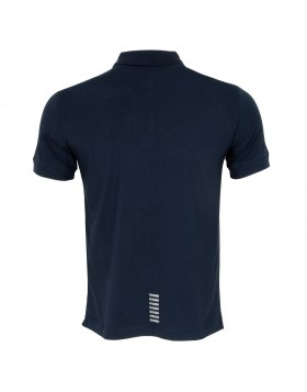 EA7 8NPF04 Polo Shirt - Navy