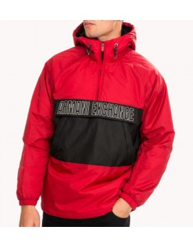 Armani Exchange 6GZB04 Blouson Jacket - Red/Black