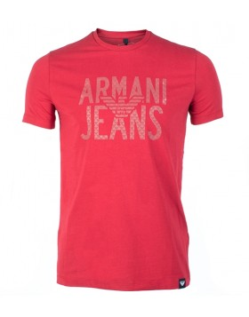 Armani Cotton T-Shirt Red