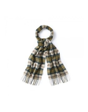 Barbour Tartan Lambswool Green