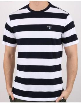Barbour Beach Stripe T-Shirt - Navy