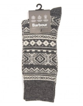 Barbour Boyd Socks Grey