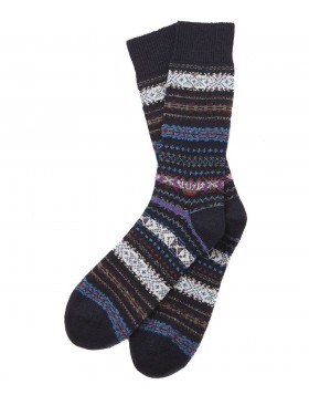 Barbour Boyd Socks Navy