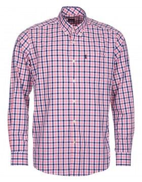 Barbour	Bruce Tailored Fit Shirt Pink Check
