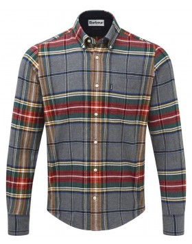 Men's Barbour Castlebay Check Shirt navy