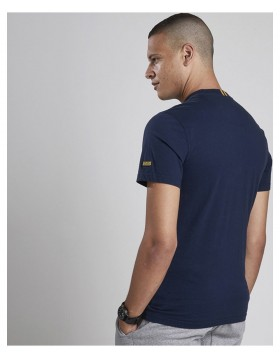 Barbour International Balance Pocket T-Shirt Navy