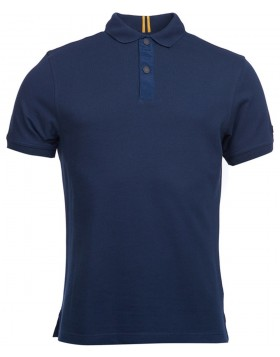 Barbour	International Crank Polo Navy