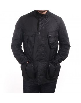 Barbour International Gauge Wax Jacket - Black