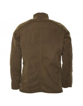 Barbour International Mens Dark Sand Lockseam Casual Jacket