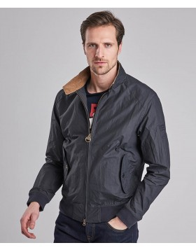 Barbour International Rectifier Harrington Casual Jacket Navy