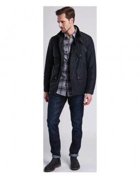 Barbour International Tyne Waterproof Jacket Black