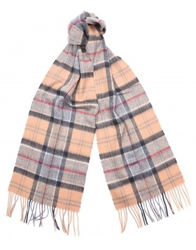 Barbour Merino Cashmere Tartan Scarf Dress