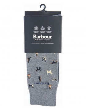 Barbour Mavin Socks Mid Blue