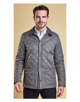 Barbour Pembroke Quilt Grey