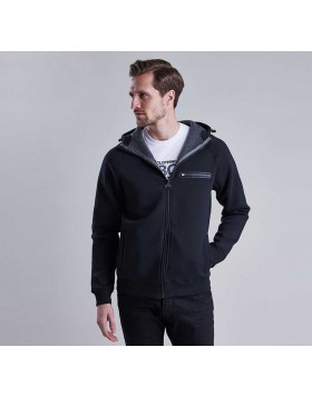 Barbour	PODIUM HOODY	Black