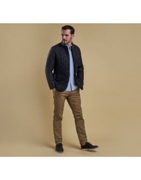 Barbour Quilted Sander Navy