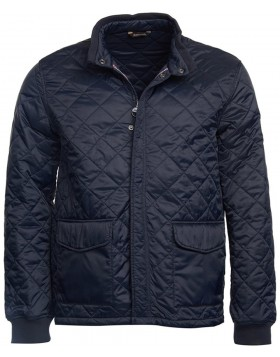 Barbour Steve McQueen Cross Quilted Jacket Navy