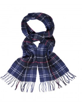 Barbour Tartan Lambswool Navy