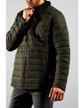 Barbour Beacon Baffle Akenside Jacket - Sage