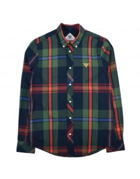 Barbour Beacon Highland Check 33 Shirt - Navy