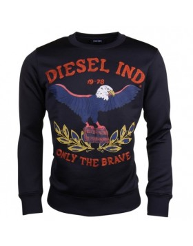 Diesel Joe RA Sweatshirt Black