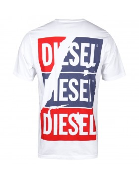 Diesel Just ZC Tee White