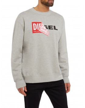 Diesel Sammy Sweat Grey