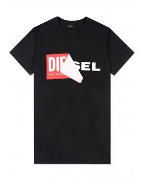 Diesel T-Diego-QA Tee Black