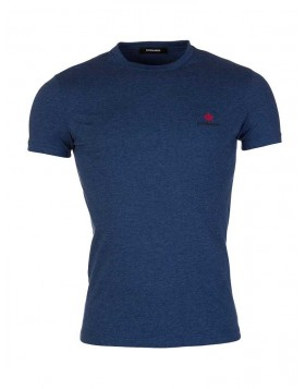 Dsquared2 Blue Crew Neck T-Shirt