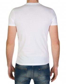 Dsquared2 White Maple Logo T-Shirt