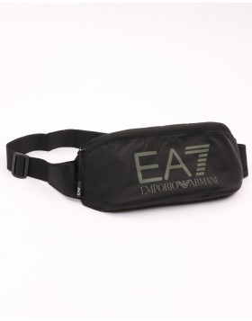 EA7 Train Visibility Sling Bag - Black/Stone Grey