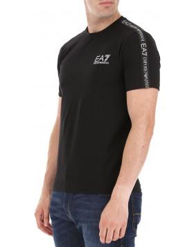 EA7 6GPT13 T-Shirt - Black