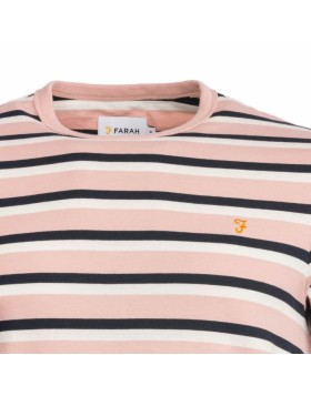 Farah Factory Multi Crew  Rose