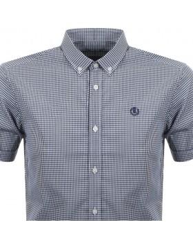 Henri Lloyd Ragnall Gingham SS Reg Shirt Blue
