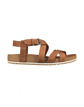 Timberland Malibu Waves Ankle Sandal Saddle Nubuck