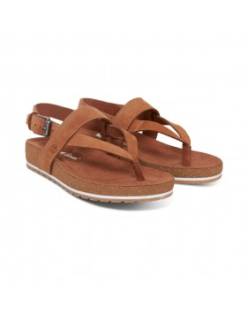 Timberland Malibu Waves Thong Sandal Saddle Nubuck