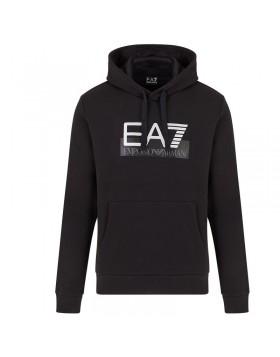 EA7 6GPM17 Hoodie - Black