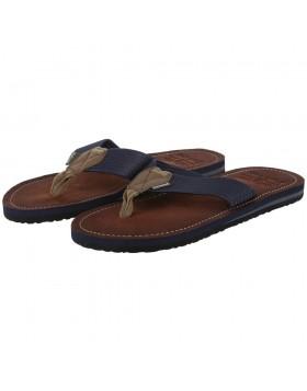 Barbour Toeman Beach Sandals - Navy