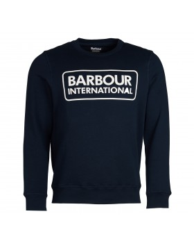 Barbour International Large Logo Sweatshirt - Navy