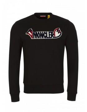 Moncler Black Logo Sweatshirt