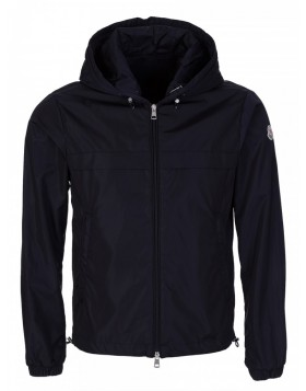 Moncler Navy Gradignan Hooded Jacket